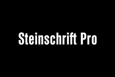 Steinschrift Pro