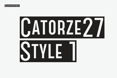 Catorze27 Style 1