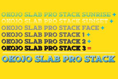 Okojo Pro Slab Stack