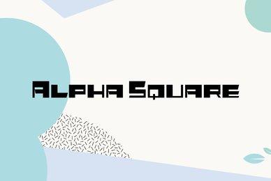 Alpha Square