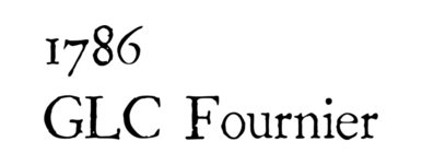 1786 GLC Fournier