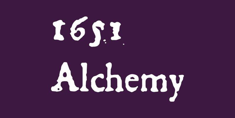 1651 Alchemy