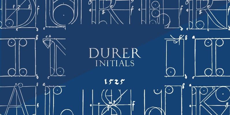 1525 Durer Initials