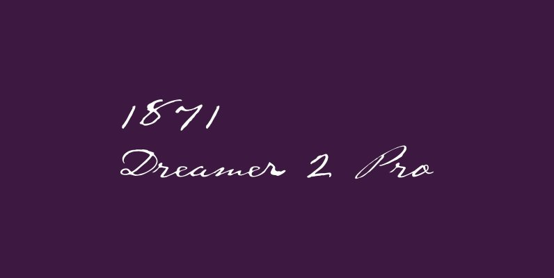 1871 Dreamer 2 Pro