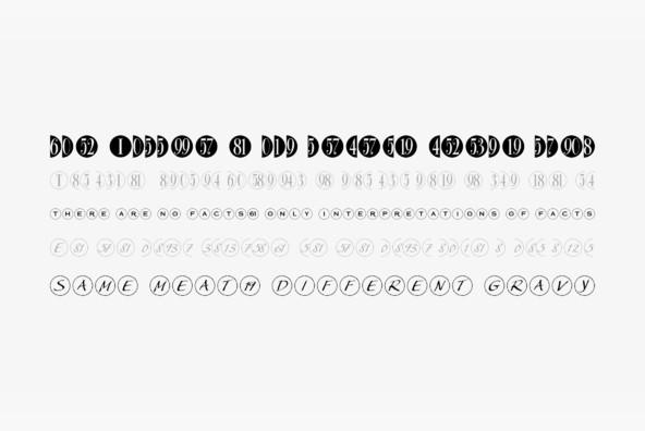Bullet Numbers