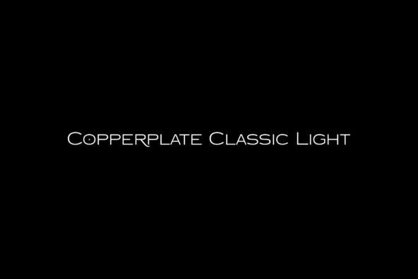 Copperplate Classic Light