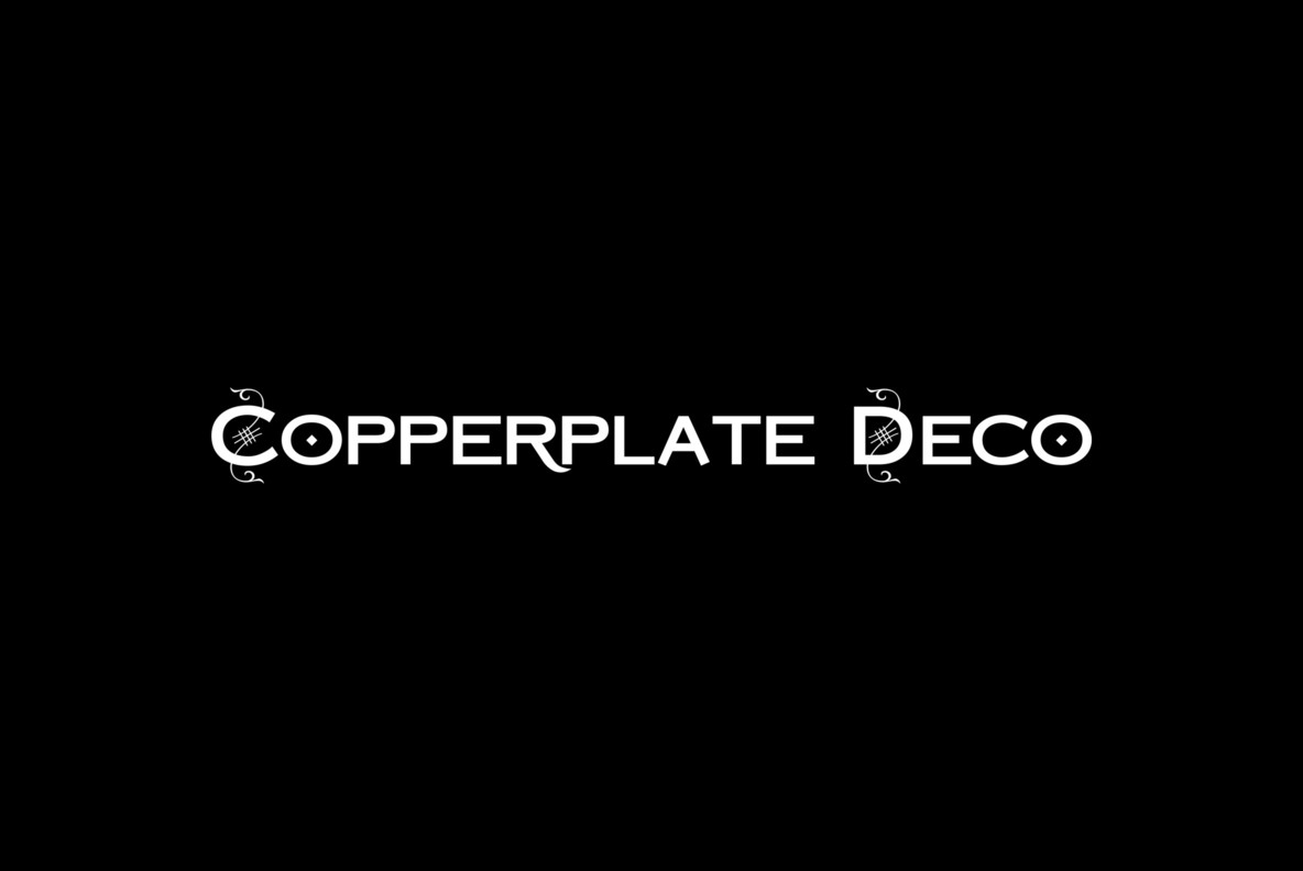 Copperplate Deco