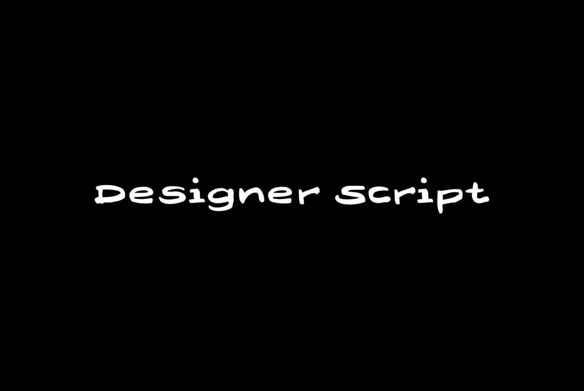 Designer Script