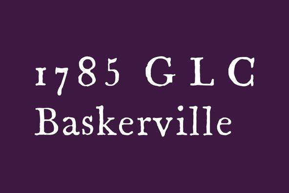1785 GLC Baskerville Pro