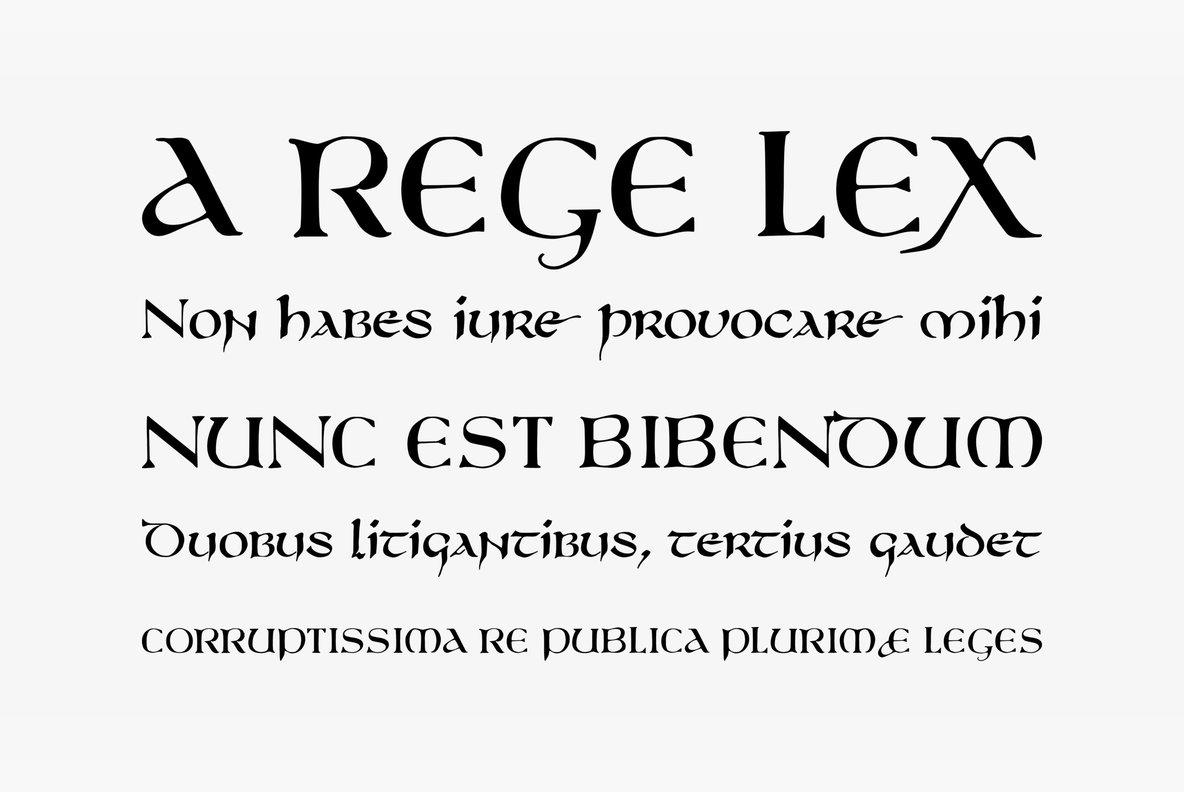750 Latin Uncial