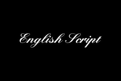 English Script