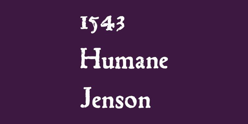 1543 Humane Jenson