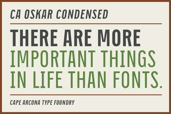 CA Oskar Condensed