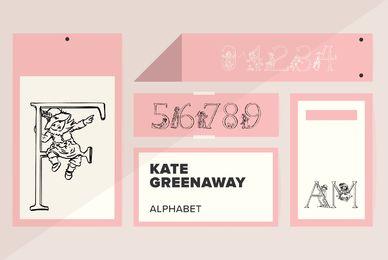 Kate Greenaway Alphabet