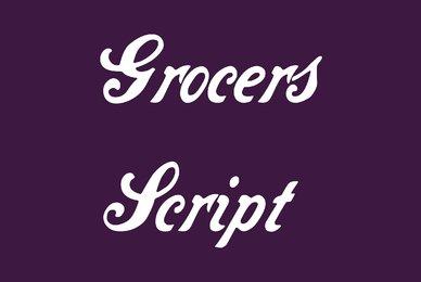 Grocers Script
