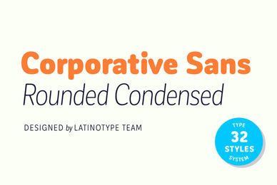 Corporative Sans Rounded Condensed