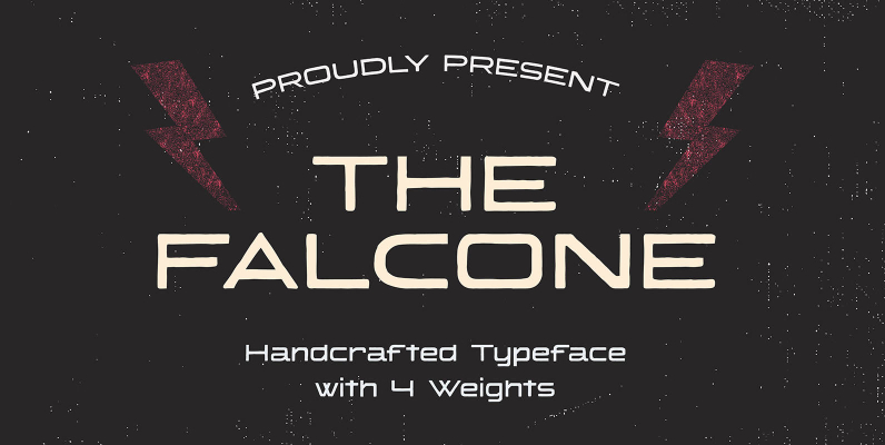 Falcone Handcrafted Typeface