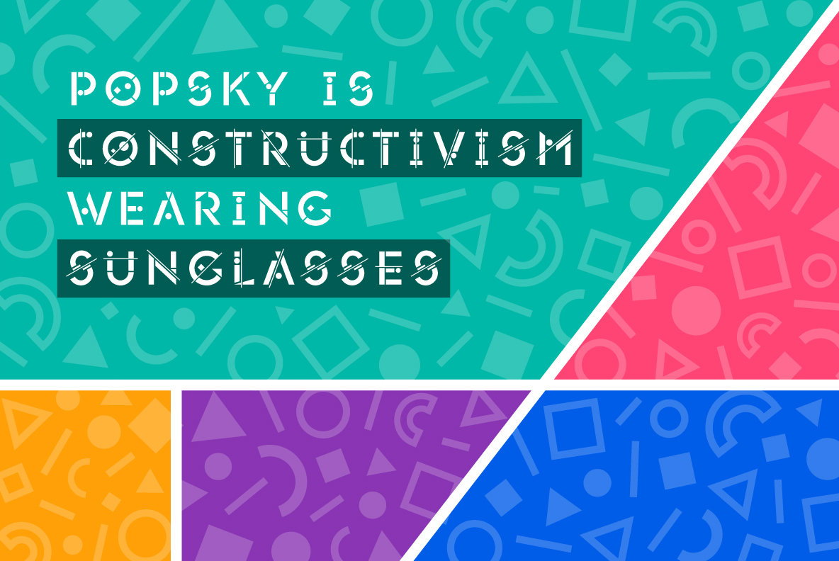 Popsky Font Bundle