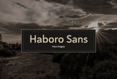 Haboro Sans