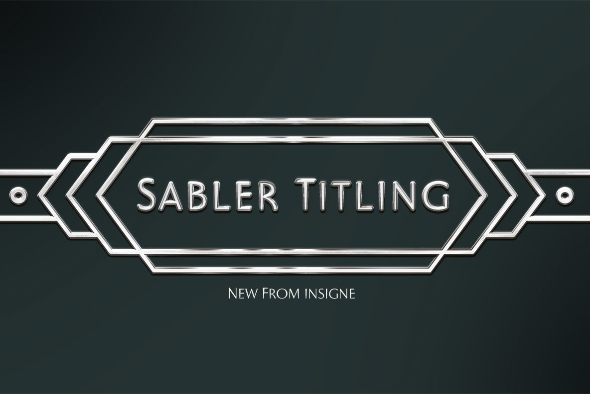 Sabler Titling
