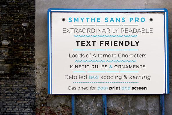 SmytheSans Pro