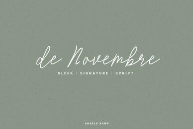 de Novembre