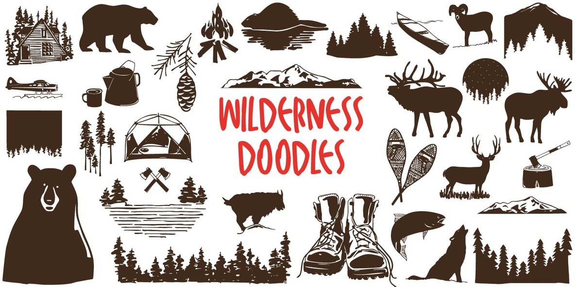 Wilderness Doodles