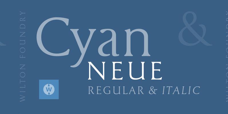 Cyan Neue