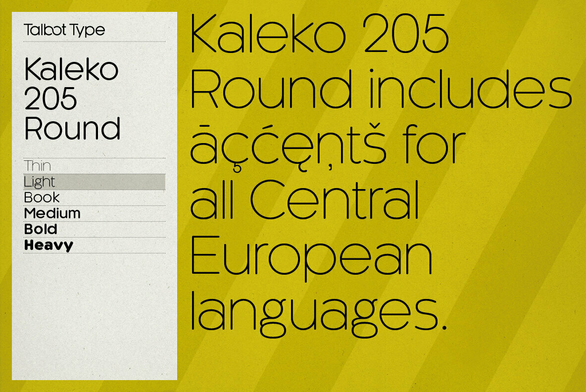 Kaleko 205 Round