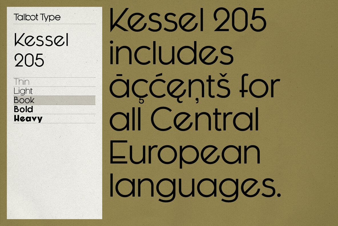 Kessel 205