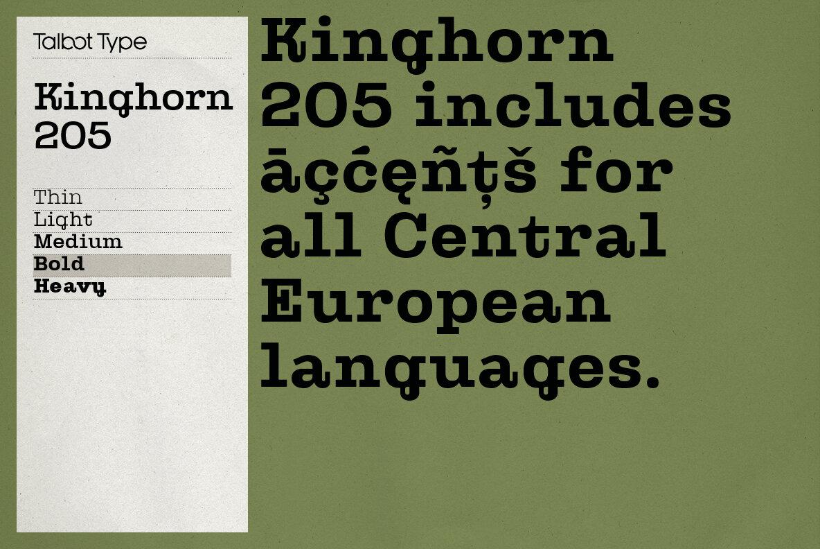 Kinghorn 205