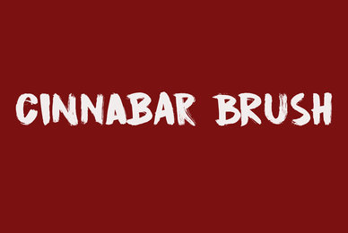Cinnabar Brush