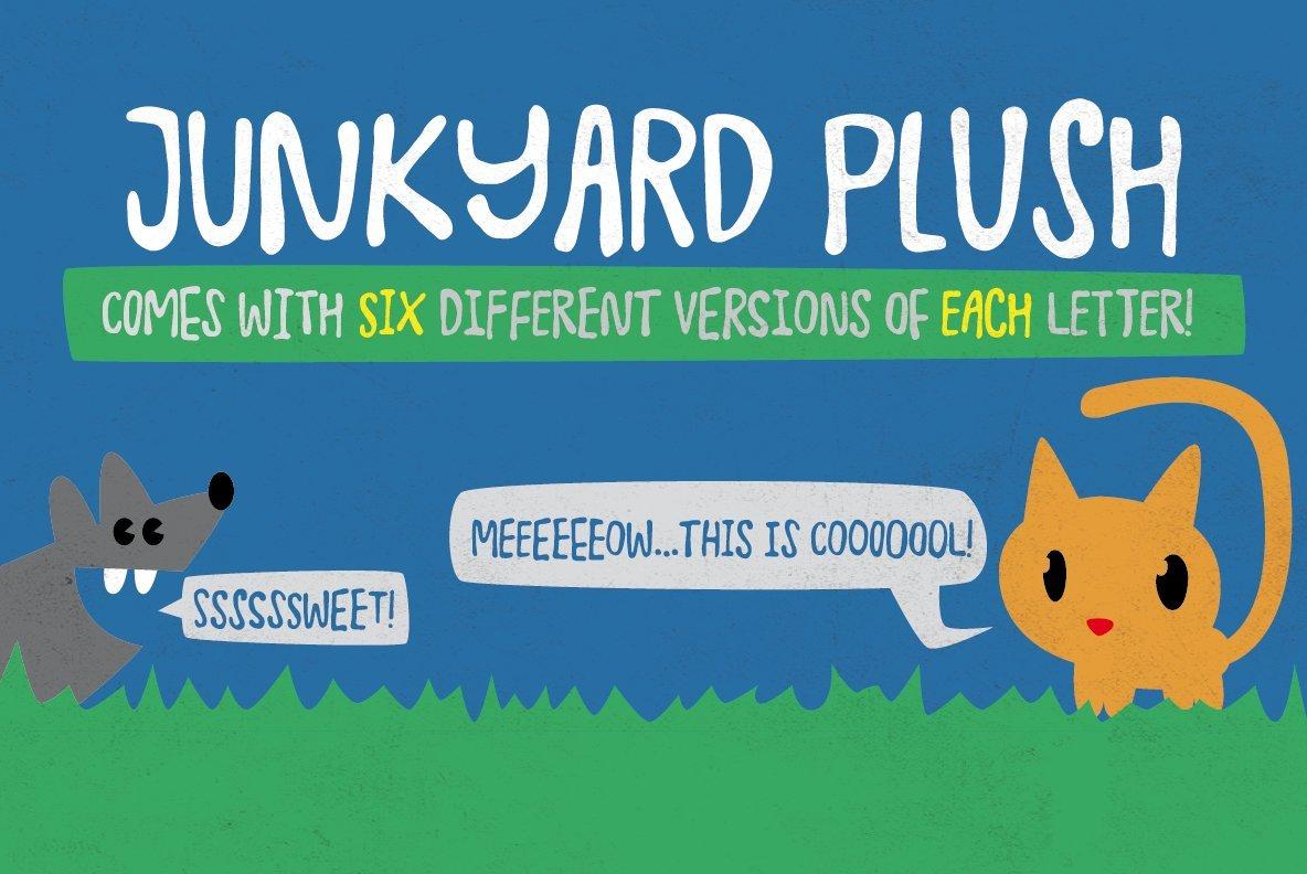 Junkyard Plush