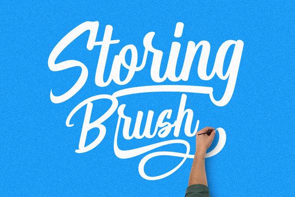 Storing Brush