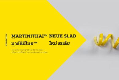 MartiniThai Neue Slab