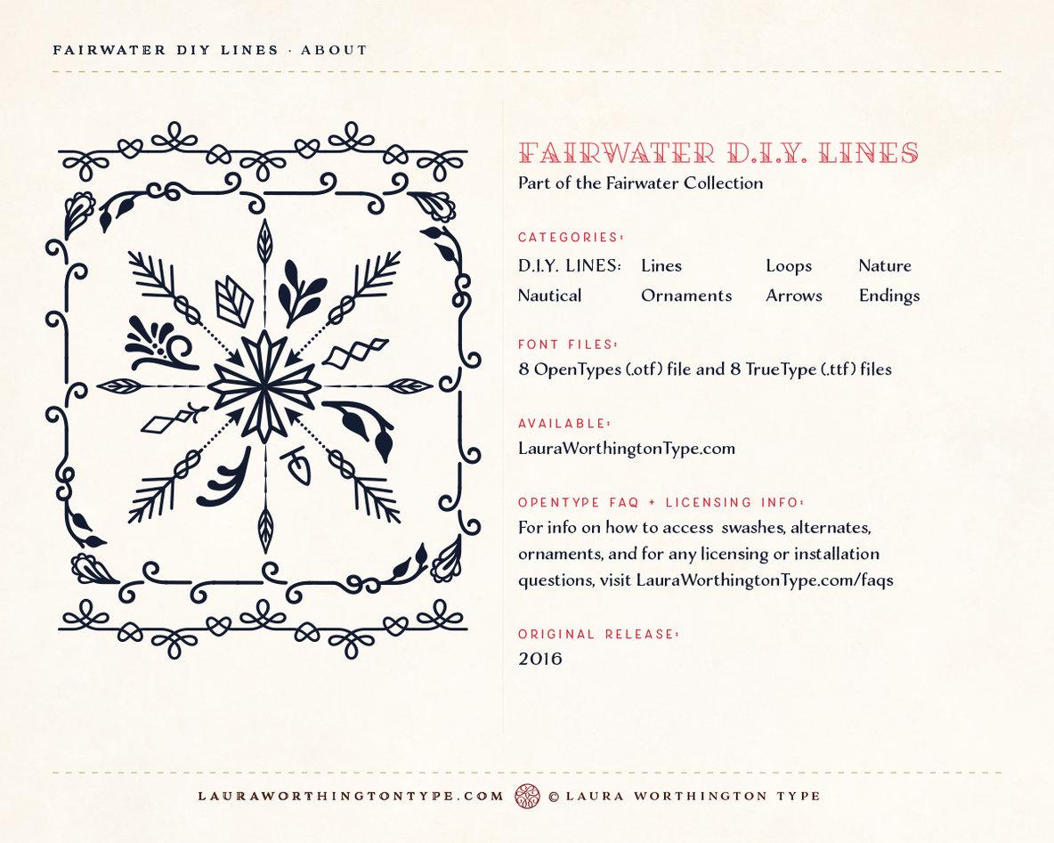 Fairwater DIY Lines