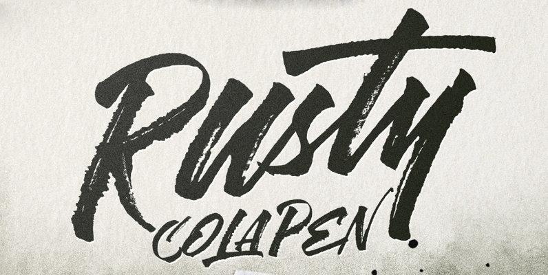 Rusty Cola Pen