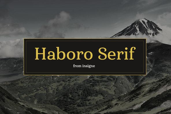 Haboro Serif