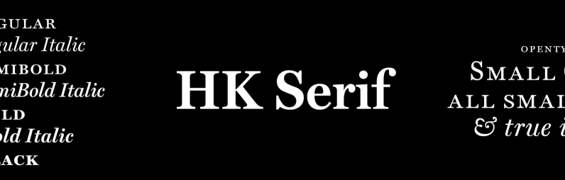 HK Serif