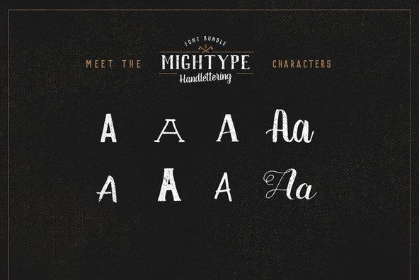 Mightype Handlettering Pack