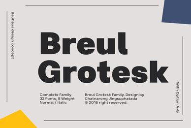 Breul Grotesk
