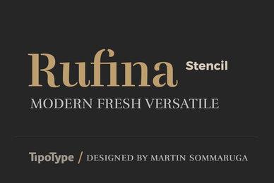 Rufina Stencil