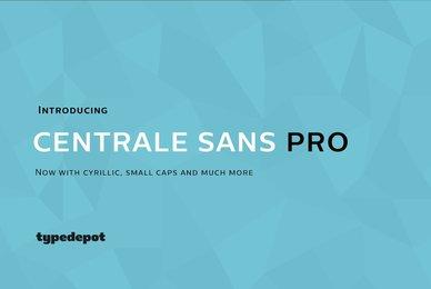 Centrale Sans Pro