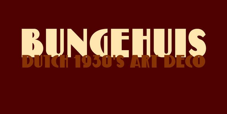 Bungehuis