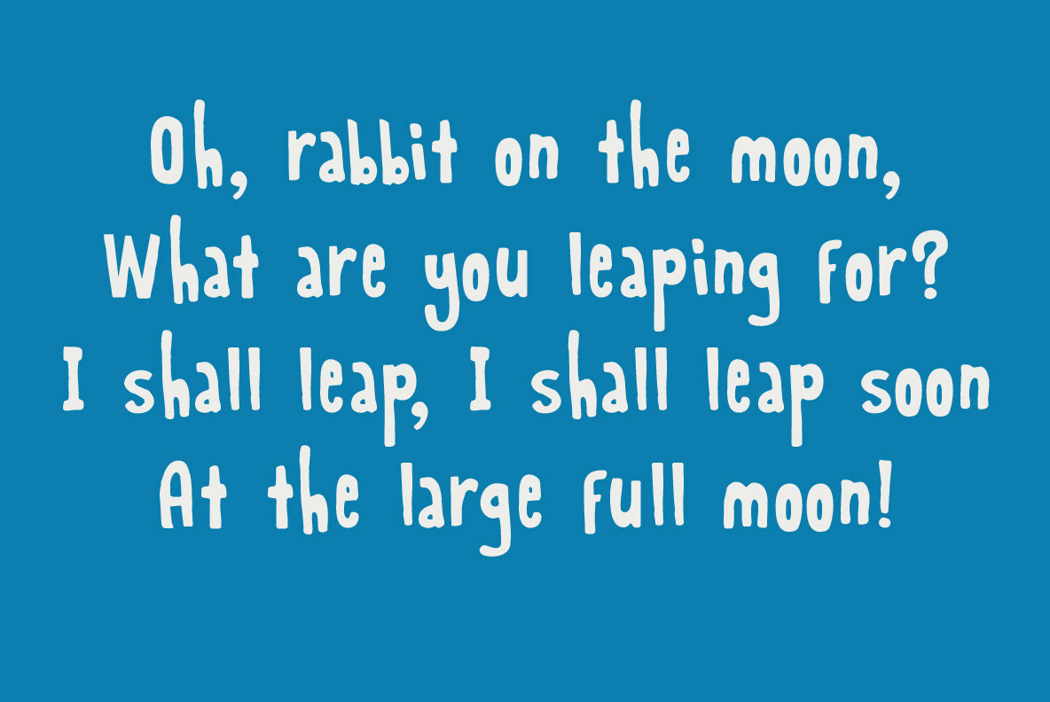 Rabbit On The Moon