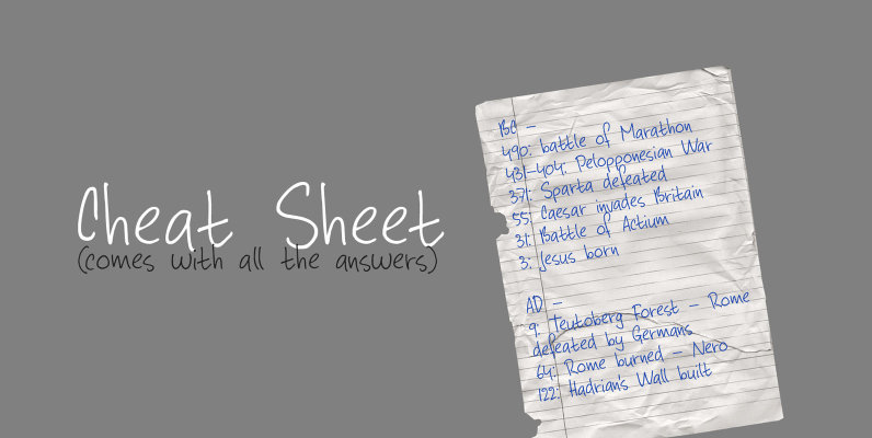 Cheat Sheet