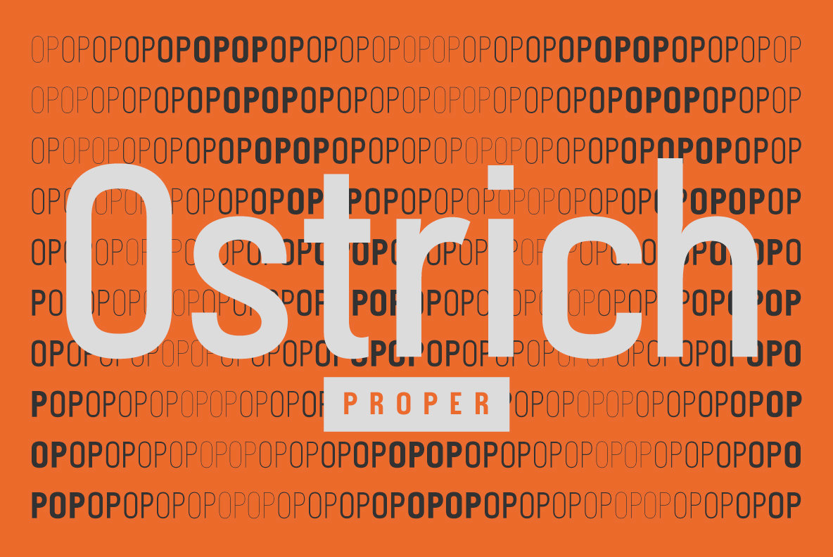 Ostrich Proper
