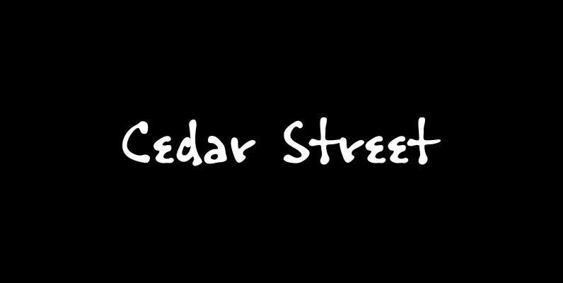 Cedar Street