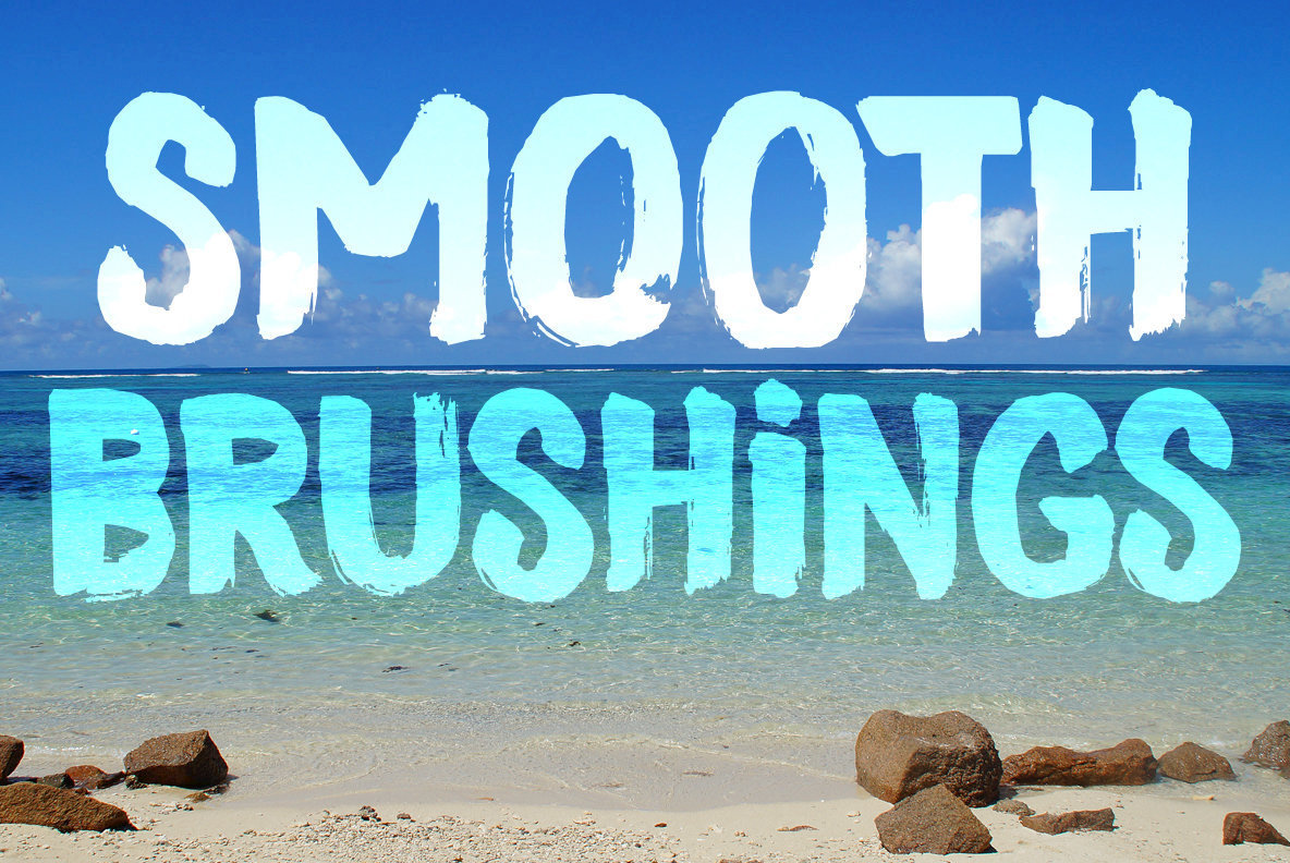 Smooth Brushings