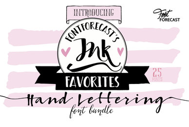 Fontforecast039 s Ink Favorites